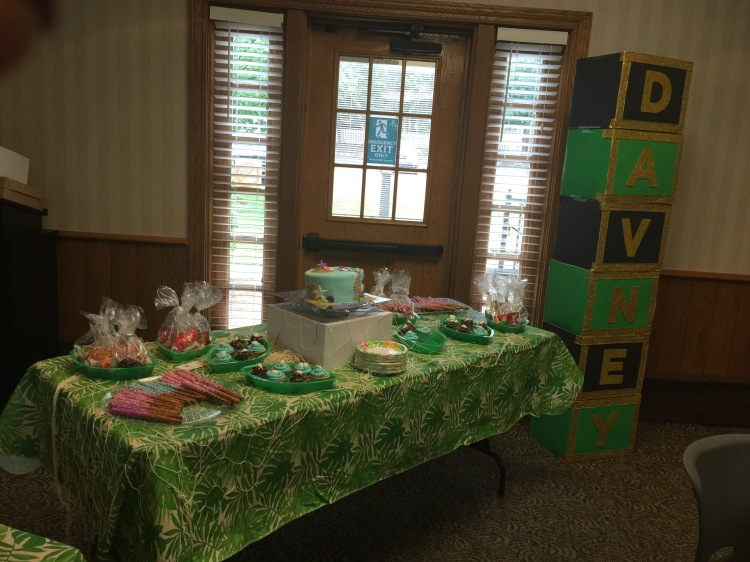 island theme baby shower