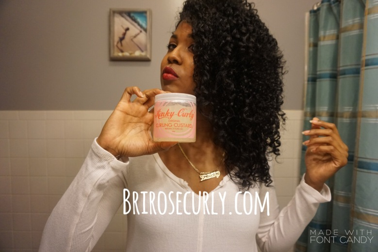 Kinky curly original curling custard Review