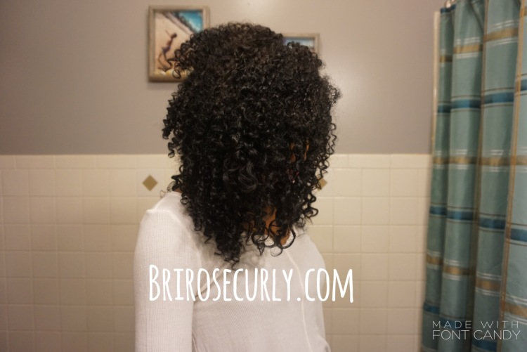Kinky-curly original curling custard review